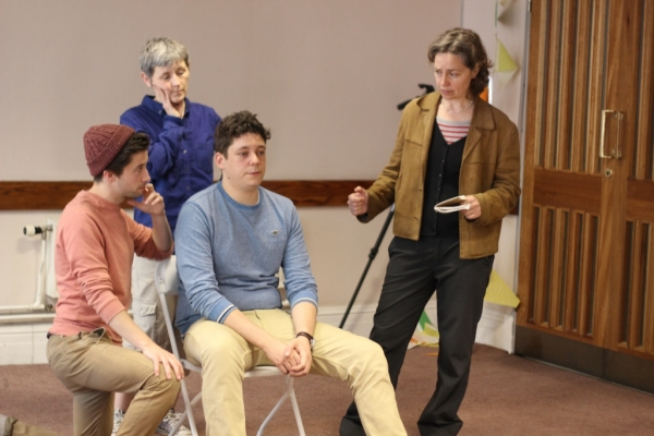 Matt Jessup (Claude Dancer), Susannah Waters, George McFadyen (Lt Frederic Manion) and Federay Holmes