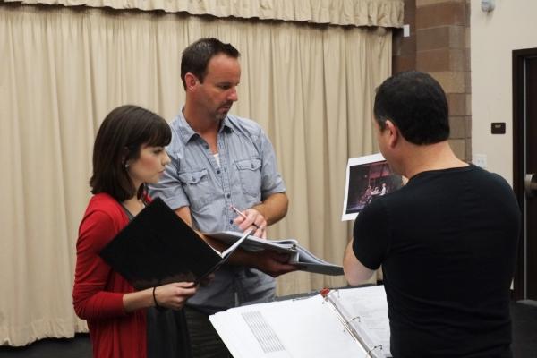 Hilary Maiberger, Randall Dodge, and Steve Glauini