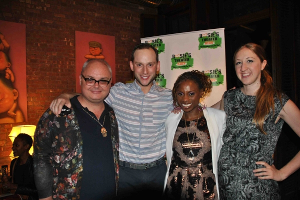 Mickey Boardman (Paper Magazine), Noah Levy (VH1''s The Gossip Table), Delaina Dixon (VH1''s The Gossip Table), Whitney Spanner (Paper Magazine)