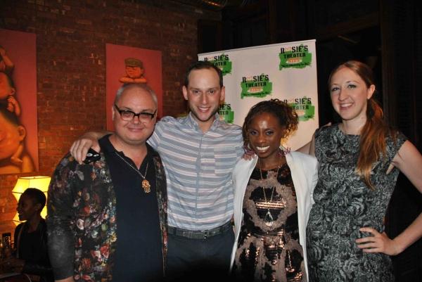 Mickey Boardman (Paper Magazine), Noah Levy (VH1''s The Gossip Table), Delaina Dixon (VH1''s The Gossip Table), Whitney Spanner (Paper Magazine)