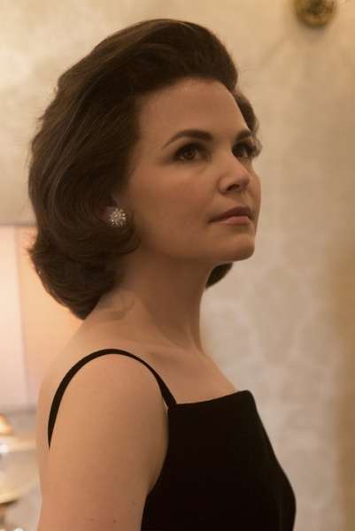 First look of Ginnifer Goodwin as First Lady Jacqueline Kennedy on the set of National Geographic Channel's KILLING KENNEDY