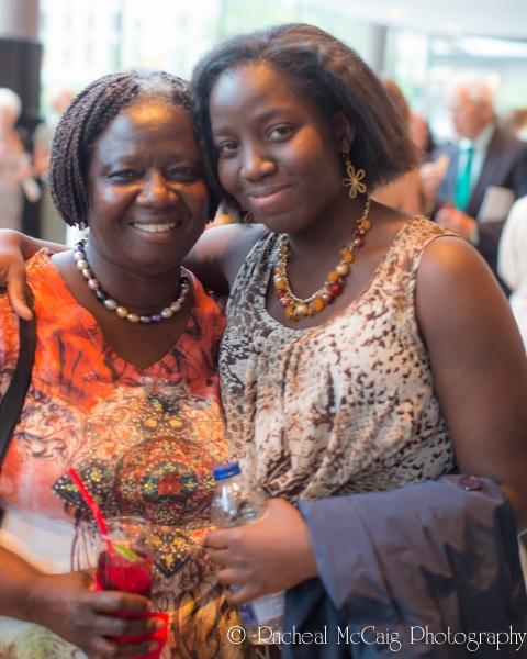 Giftie Kwarko & Daughter
