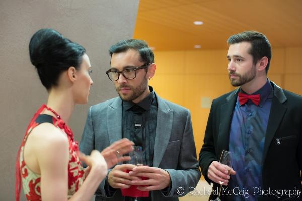 Greta Hodgkinson, Lucian Matis and James