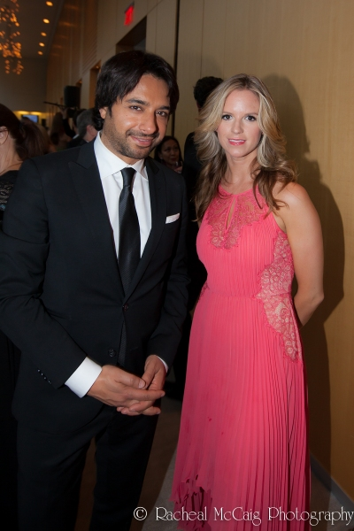 Jian Ghomeshi and Christie Ness