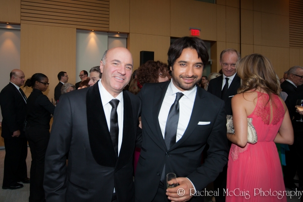 Kevin O'Leary and Jian Ghomeshi