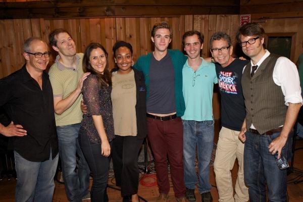 Cast & Creative Team:  Peter Melnick, John Bolton, Farah Alvin, Natalie Venetia Belco Photo