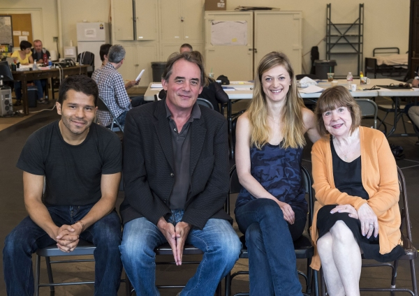 Carlo Alban, Tom Irwin, Marin Ireland and Marylouise Burke