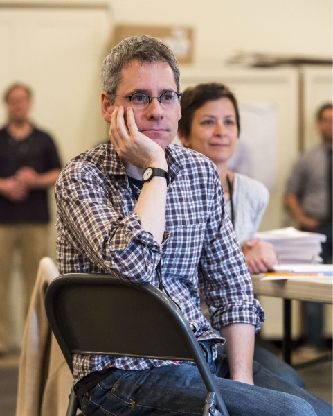 Playwright Bruce Norris and director Anna D. Shapiro