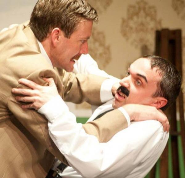 Matt Maxwell as Basil and Mark Shonsey as Manuel