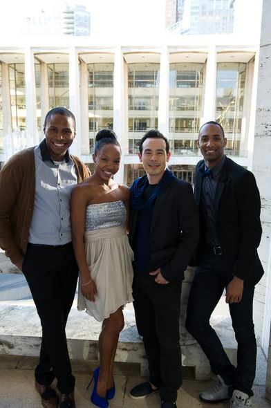 Jeroboam Bozeman, Kelly Robotham, Kanji Segawa and Sean Carmon