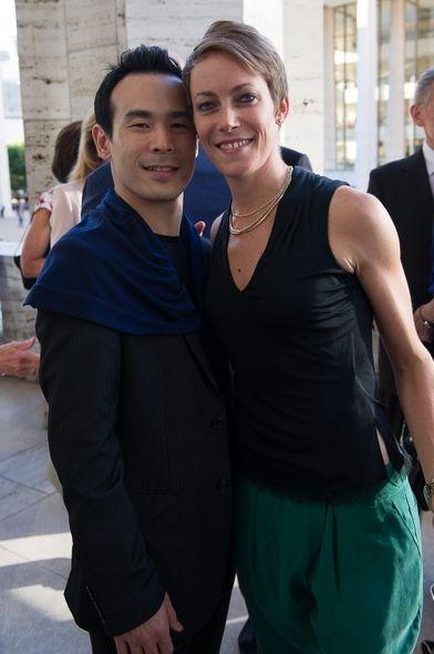 Kanji Segawa and Elisa Clark