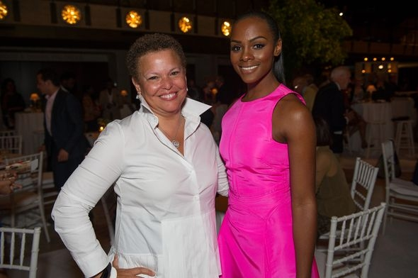 Debra Lee and Tika Sumpter