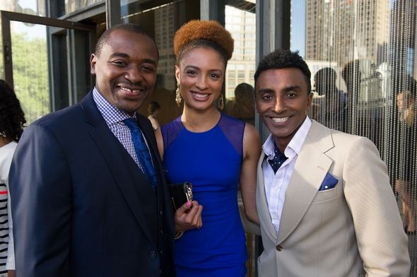Robert Battle, Curtistine Waldon-Hoes and Marcus Samuelsson