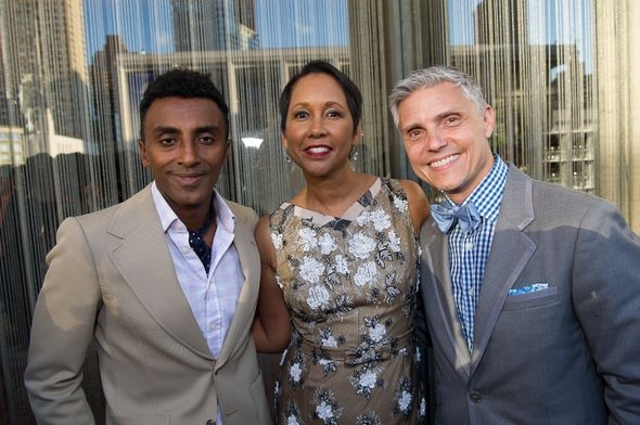Marcus Sanuelsson, Judith Byrd and David E. Monn