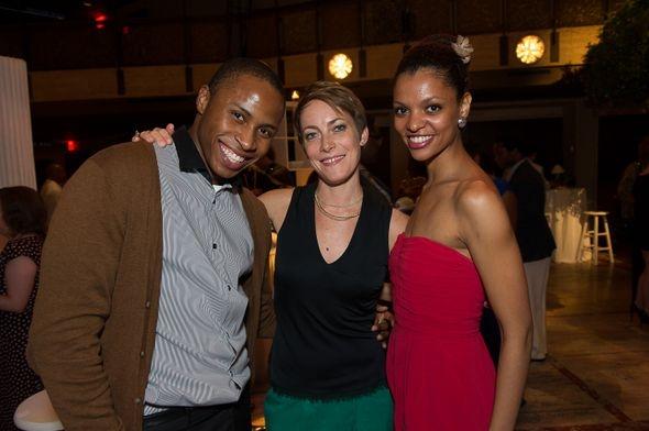 Jeroboam Bozeman, Elisa Clark and Fana Tesfagiorgis