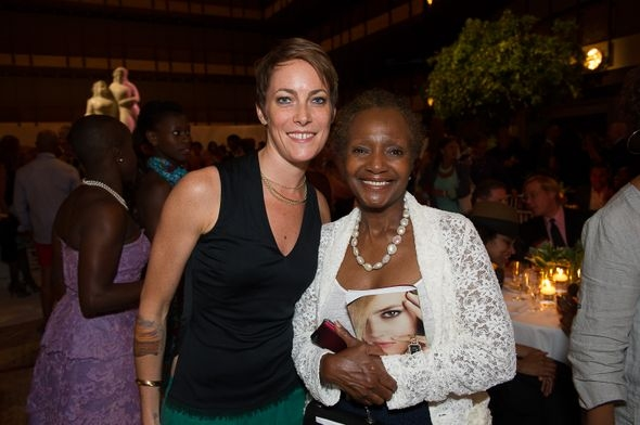 Elisa Clark and Sylvia Waters