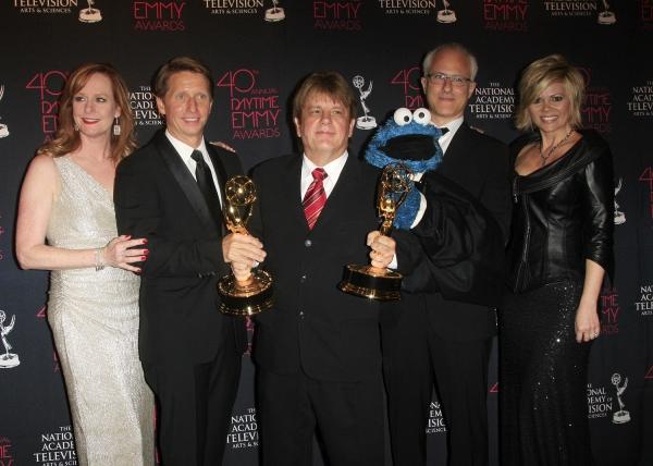 Mary McDonough, Bradley Bell, Jack Allocco, David Rudman (Cookie Monster), Leslie Miller