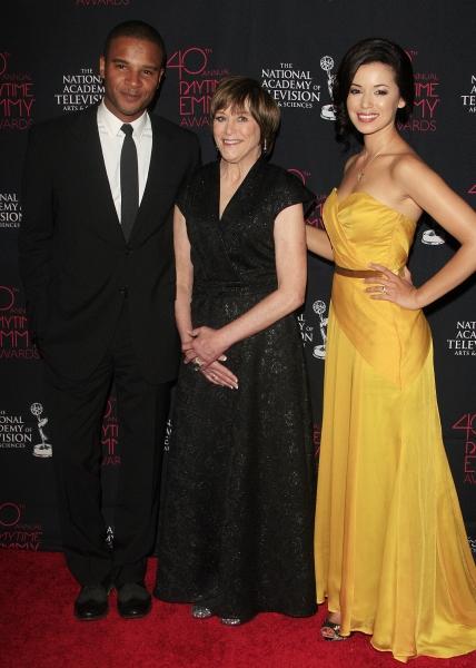 Celebrity Presenters Marc Anthony Samuel, Geri Jewell and Teresa Castillo