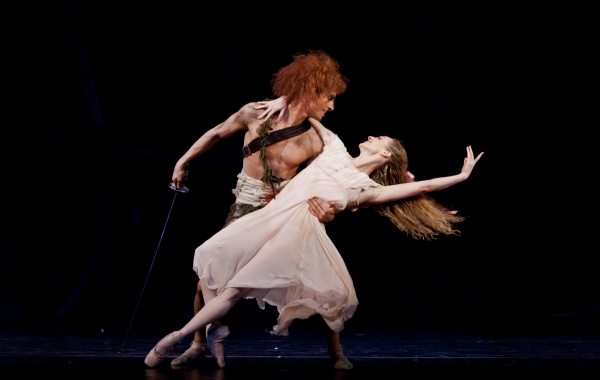 Ballet: PETER PAN. Choreographer: Trey McIntyre.Dancer(s): Sara Webb and Joseph Walsh.