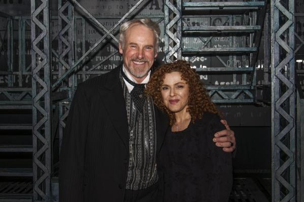 John Dossett, Bernadette Peters