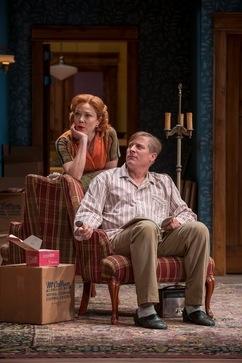 Bev (Kathryn Meisle) and Russ (Bill McCallum)  Photo