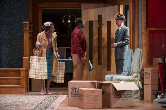 Francine (Sha Cage), Albert (Ansa Akyea) and Karl (Jim Lichtscheidl)