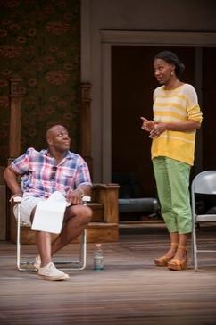 Kevin (Ansa Akyea) and Lena (Sha Cage)