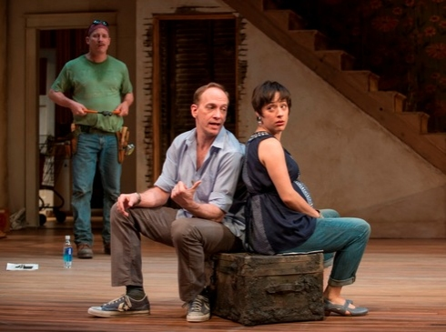 Dan (Bill McCallum), Steve (Jim Lichtscheidl) and Lindsey (Emily Gunyou Halaas)