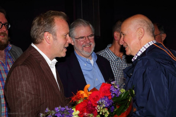 John Augustine, Chris Durang, Terrence McNally