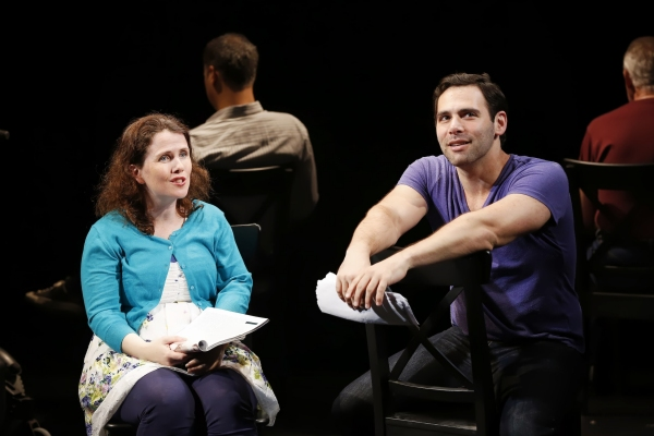 Mary Theresa Archbold (Her) and Jonathan Todd Ross (Him) in Neil LaBute''s CALL BACK