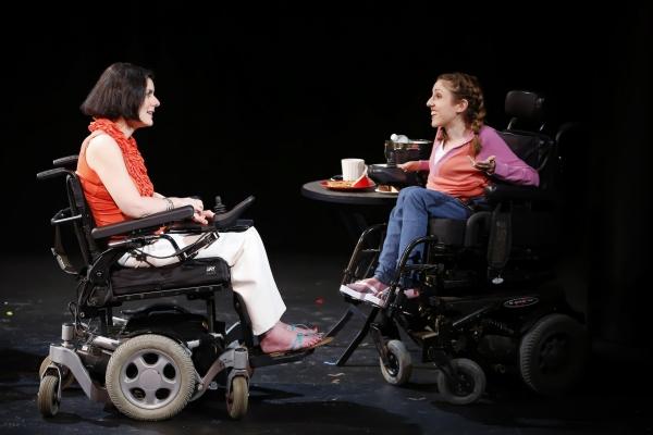 Ann Marie Morelli (Gloria) and Shannon DeVido (Rhonda) in Bekah Brunstetter''s FORGOTTEN CORNERS OF YOUR DARK, DARK PLACE