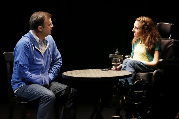 David Harrell (David) and Shannon DeVido (Shannon) in Samuel D. Hunter''s GOOD BEER