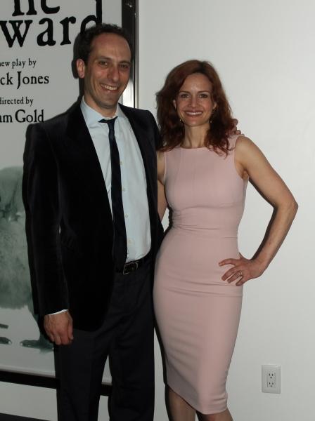 Peter Grosz and Carla Gugino