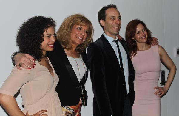 Michelle Beck, Caroline Aaron, Peter Grosz and Carla Gugino