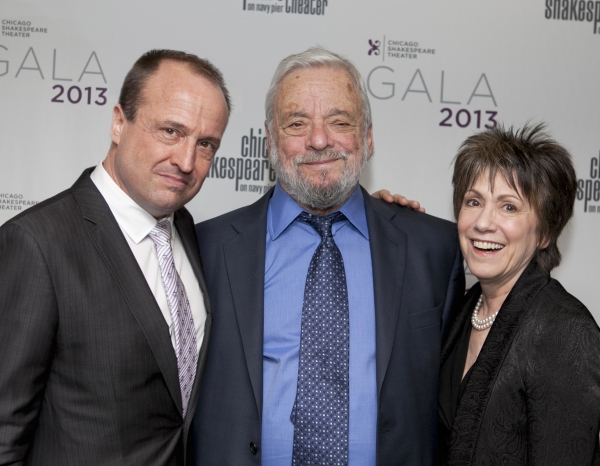 Gary Griffin, Stephen Sondheim, Barbara Gaines