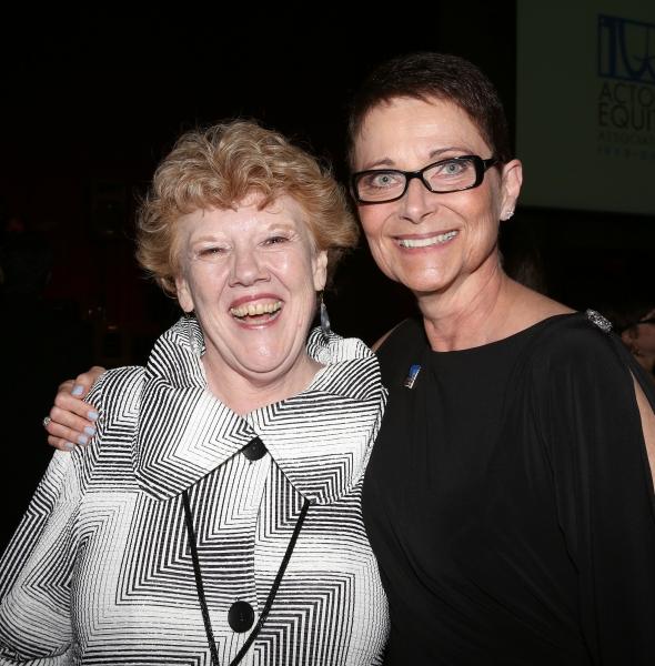 Charlotte Wilcox; Executive Director of AEA Mary McColl Photo