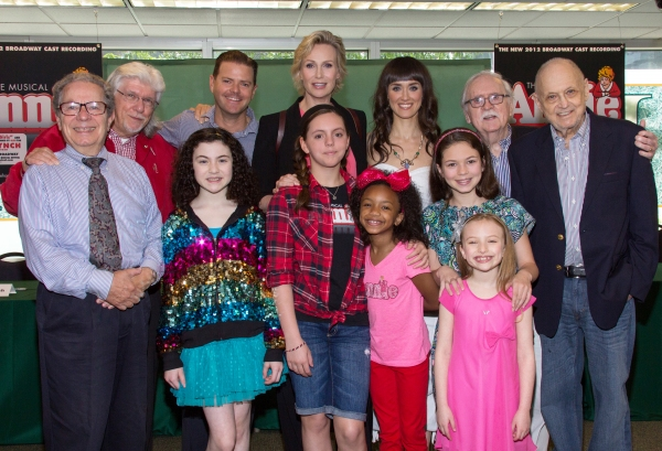 Thomas Z. Shepard, Martin Charnin, Lilla Crawford, Clark Thorell, Jane Lynch, Georgi  Photo