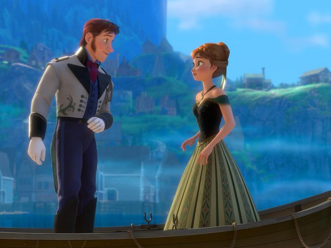 Bell Comments On FROZEN & Menzel, Character Images Revealed