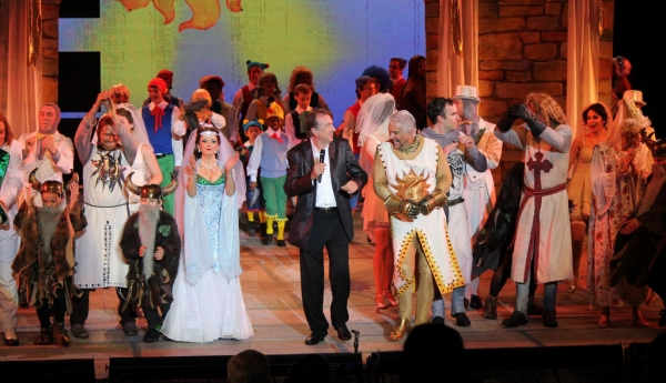 Eric Idle, Cast of Spamalot