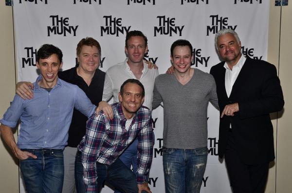 Kevin Cahoon, John Scherer, Ben Davis, David Hibbard, Tally Sessions, John O'Hurley Photo