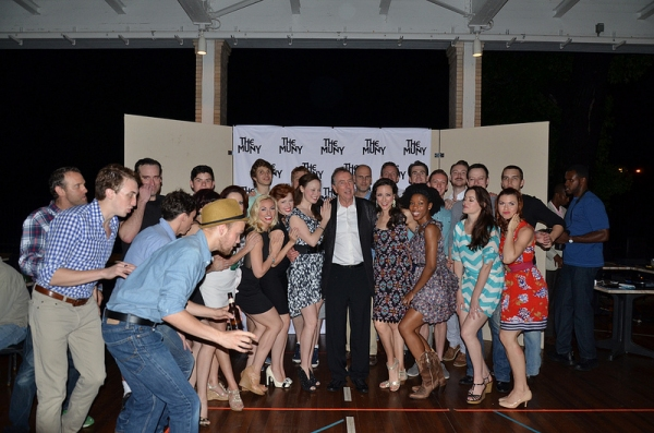 Cast of Spamalot with Eric Idle