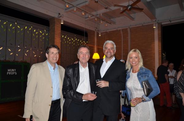 Sean Cercone, Eric Idle, John O'Hurley, Lisa O'Hurley Photo