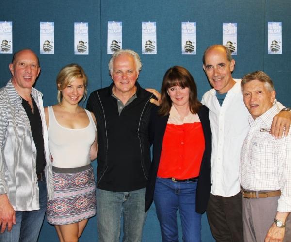 John S. Anastasi (Playwright), Danielle Faitelson, PJ Benjamin, Patricia Richardson, Robert Emmet Lunney, Charles Abbott (Director)