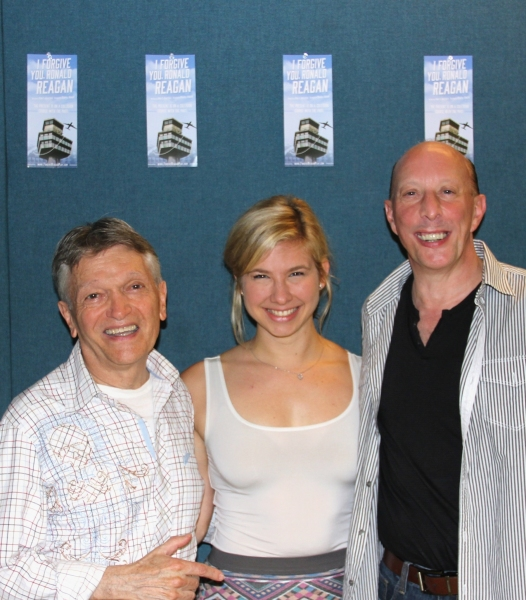 Charles Abbott (Director), Danielle Faitelson, John S. Anastasi (Playwright)  Photo