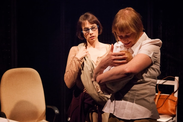 Hillary Clemens as Mari and Alexandra Main as Joan Photo