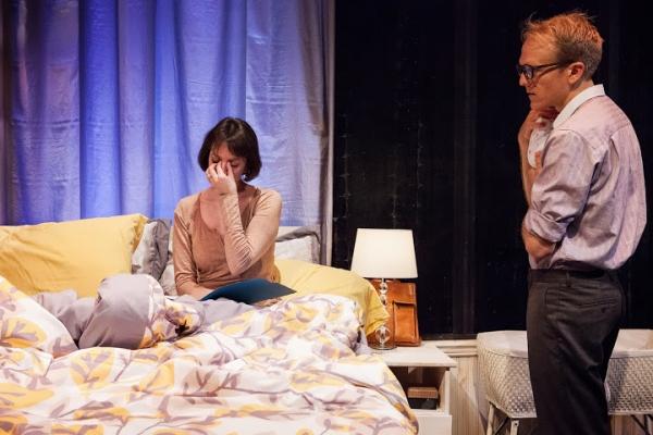 Hillary Clemens as Mari and Gabriel Franken as Peter