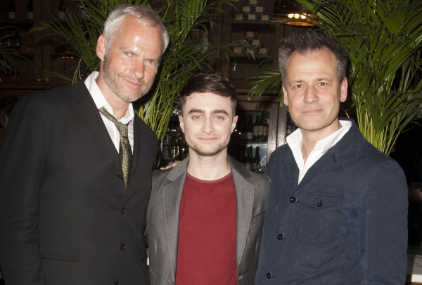 Martin McDonagh (Author), Daniel Radcliffe (Billy) and Michael Grandage (Director)