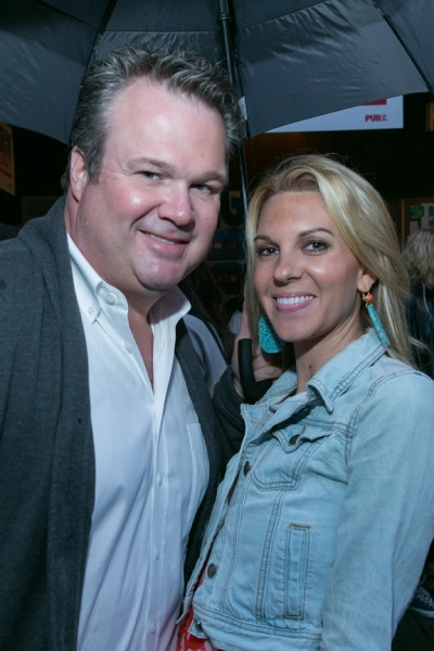 Eric Stonestreet and guest