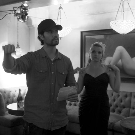 Director Bailey Kobe and Mary Catherine Garrison  Photo