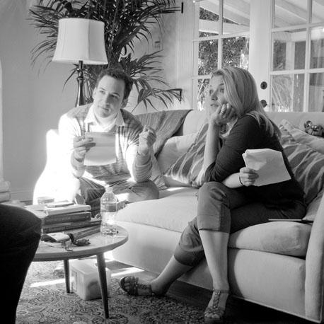 Ben Savage and Mary Catherine Garrison  Photo